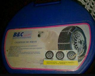 Cadenas coche rueda 155