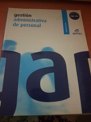 libro gestión administrativa de personal