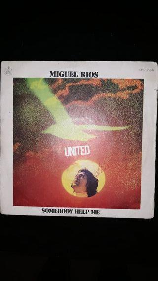 Disco LP. Miguel Ríos Unitee