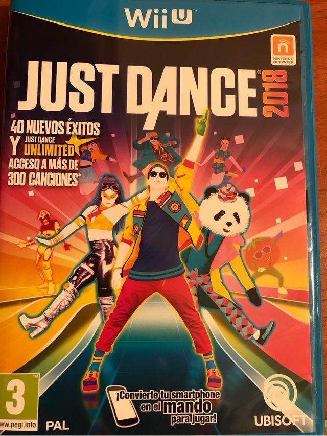 Juego Wii U Justdance 2018 De Segunda Mano Por 29 En Valencia En