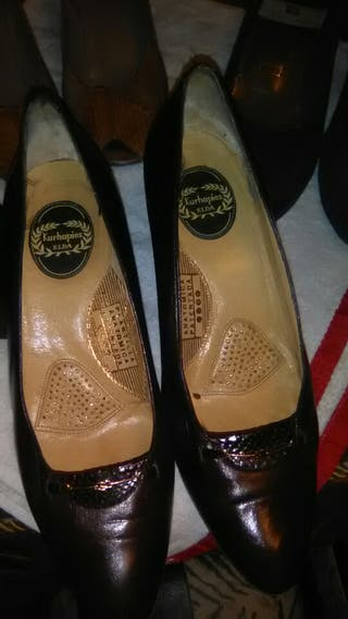 estupendo lote zapatos piel de alicante