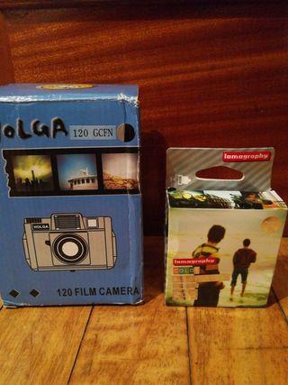 cámara de fotos Holga