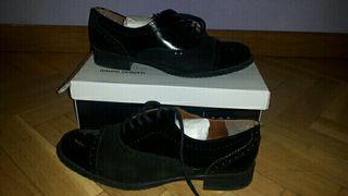 Zapatos mujer piel negro talla 38