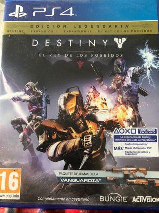 Destiny 1 Edición Legendaria PS4