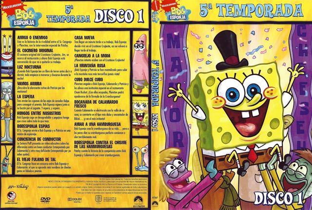 BOB ESPONJA (DVD) - TEMPORADA 5