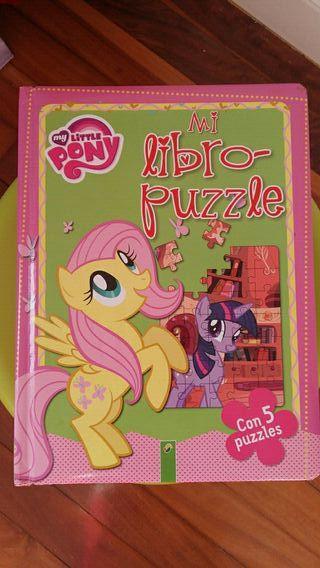 Libro puzzle My little pony