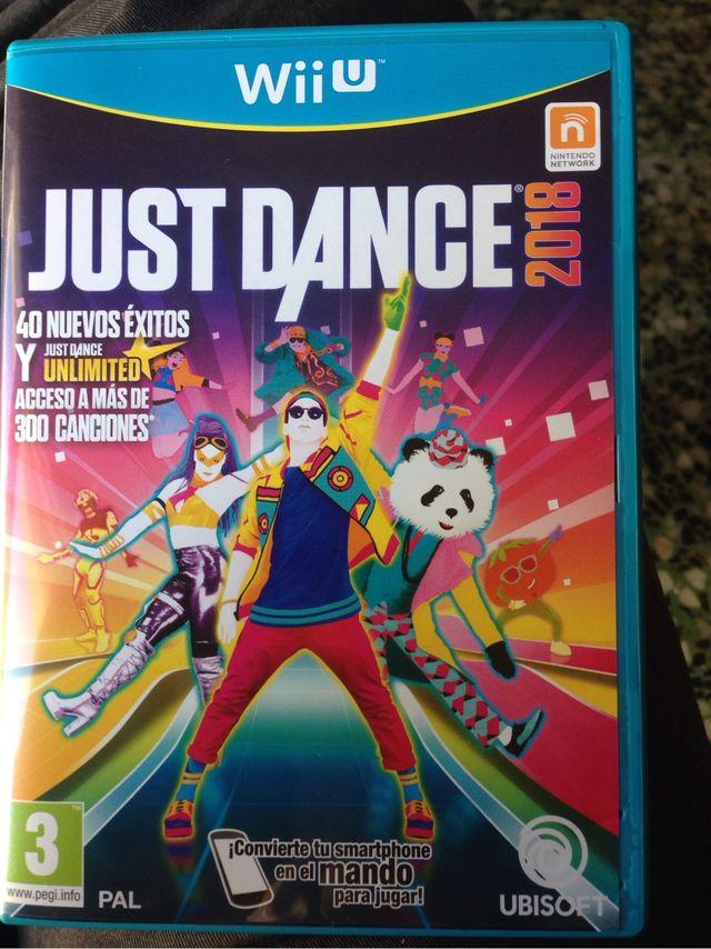 Juego Just Dance 2018 Wii U De Segunda Mano Por 35 En Alcanar En