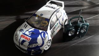 coche rc rally 1/10 thunder tiger