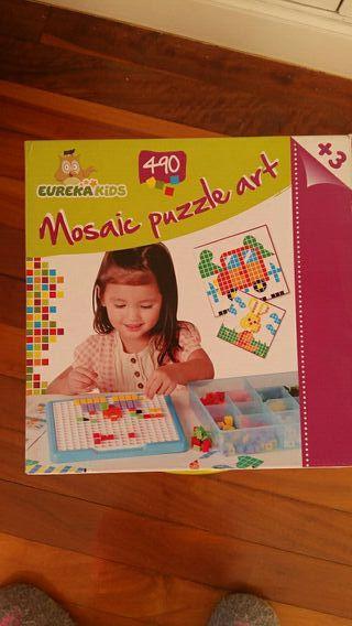 Mosaic puzzle art eureka kids