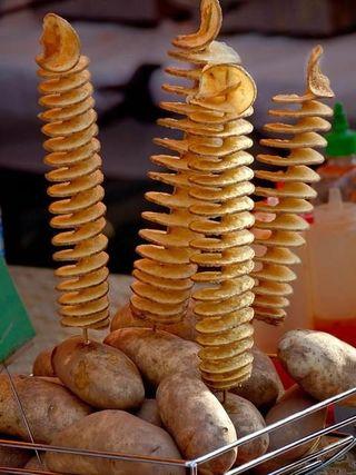 Negocio Patatas en Espiral