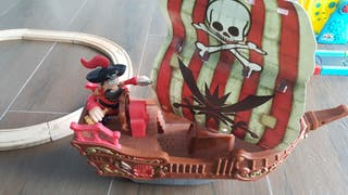 Barco pirata con sonido
