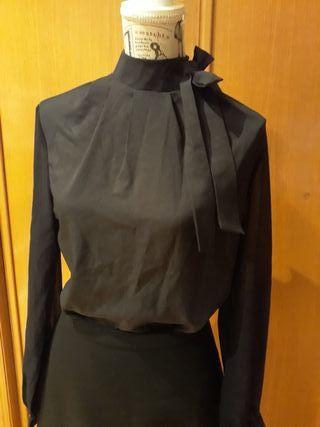 Camisa mujer negra