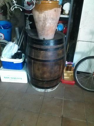 barril de decoracion