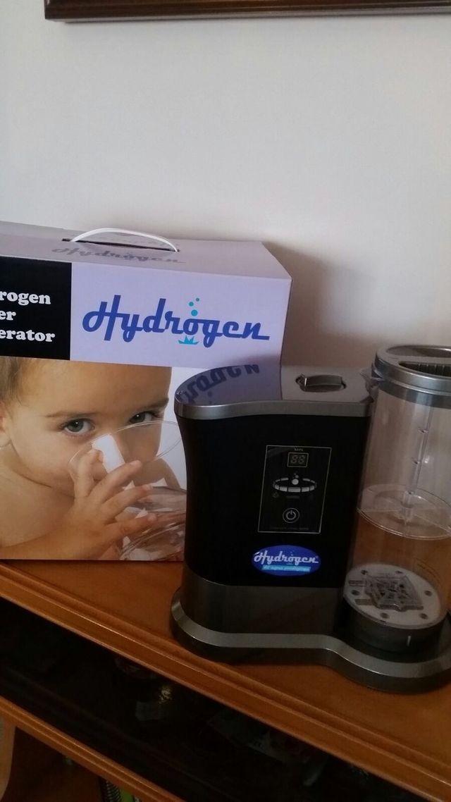 Generador de agua hidrogenada