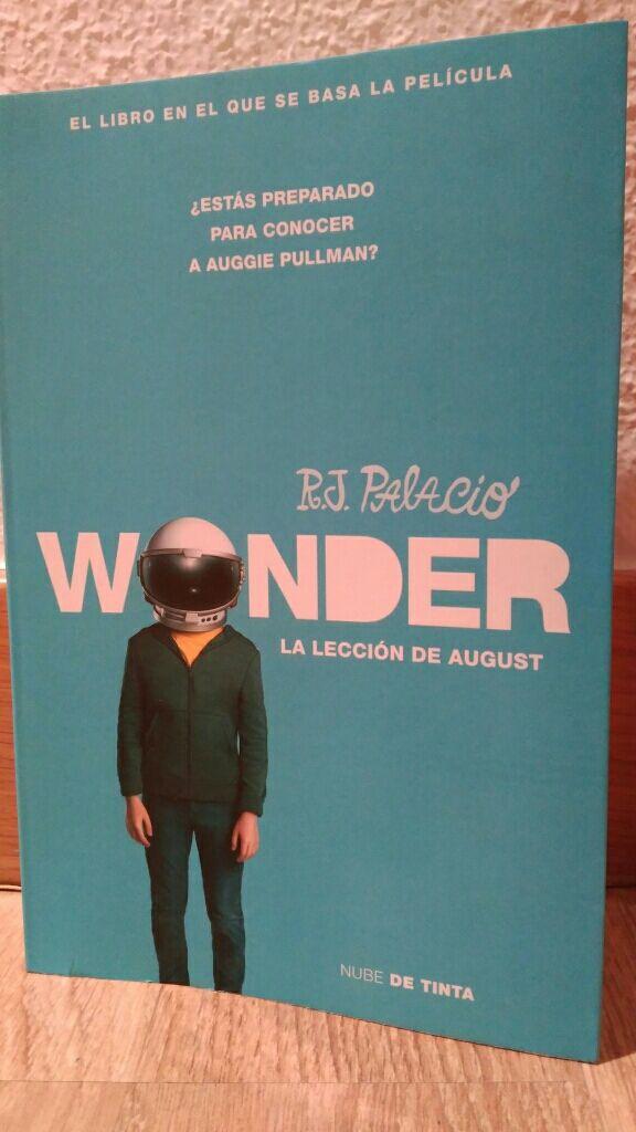 Wonder. la lección de August