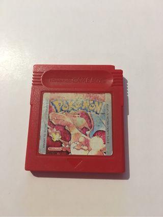 Pokemon rojo gbc