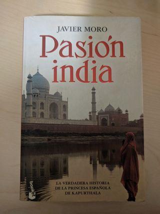 libro Pasión india Javier Moro