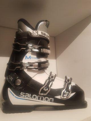 La Segunda De Salomon Vizcaya Botas Esquí Provincia Mano En tBwBYd