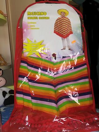 disfraz de mexicano de 7 a 9 años
