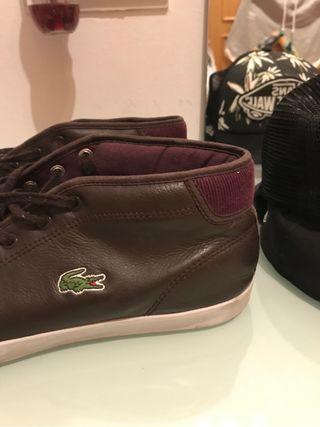 Zapatos de piel Lacoste