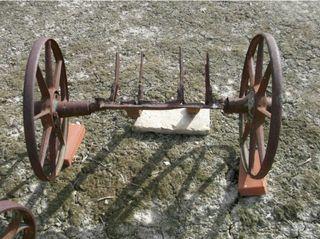 ruedas de transporte