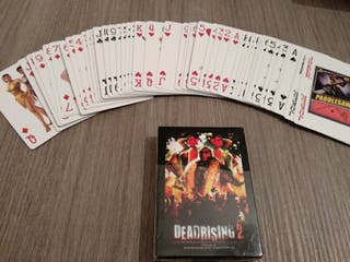 Baraja de cartas del videojuego Dead Rising 2