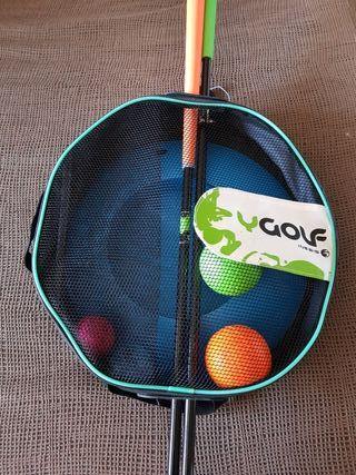 palos de golf juguete
