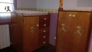 muebles rústicos bebé rebajados