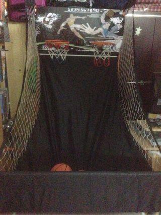 Juego baloncesto electronico