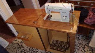 Maquina coser Sigma modelo zig zag