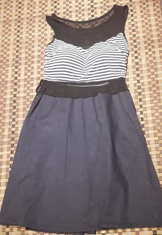 vestido marinero ..talla s.m