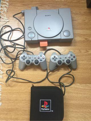 Play Station 1 con juegos