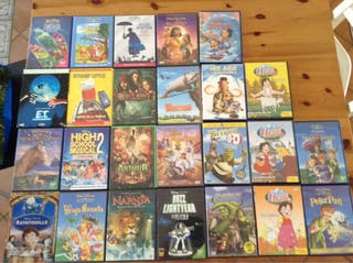 25 Peliculas infantiles DVD