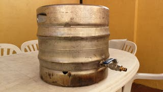 barril cerveza homebrew