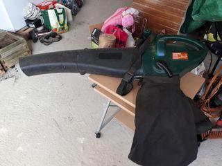 soplador y aspirador de hojas electrico