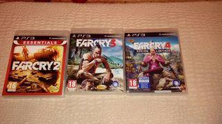juegos farcry 2, 3 y 4