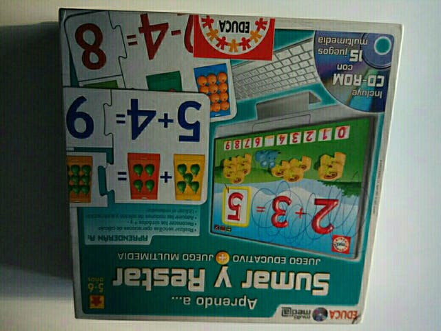 Juego De Matematicas Para Ninos Entre 5 6 Anos De Segunda Mano Por 5