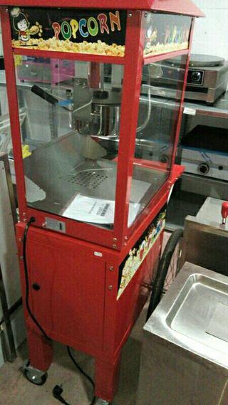 maquina de palomitas con carro rebajas