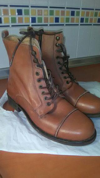 botas piel talla42 nuevas