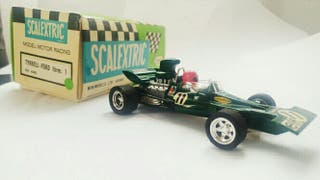 Scalextric Tyrrell Ford F1 Exin Verde, ref c-48