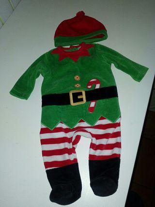 Disfraz elfo bebé -niño