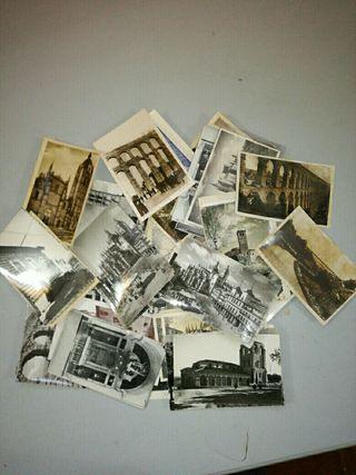 tarjetas postales antiguas de Segovia.