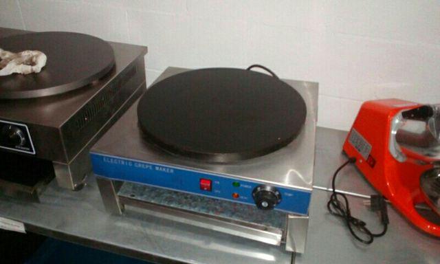crepera electrica nueva profesional