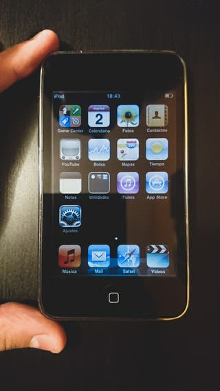 iPod Touch 2a gen segunda mano  España