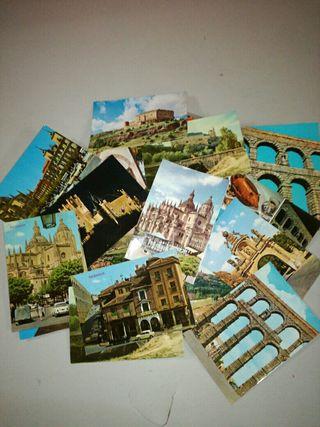 postales antiguas Segovia