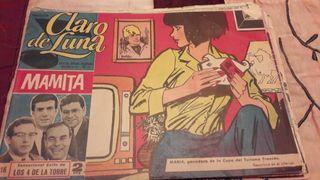 revistas juveniles claro de luna antiguas año 1964