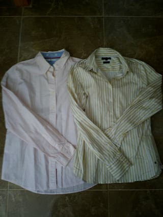 camisa tommy hilfiguer mujer