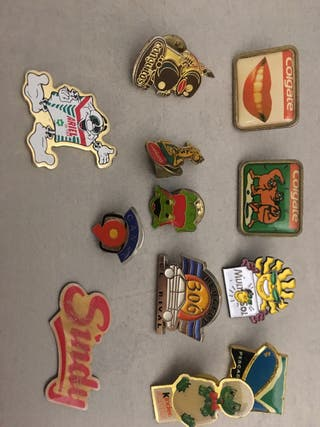 Pins de marcas 12 pins