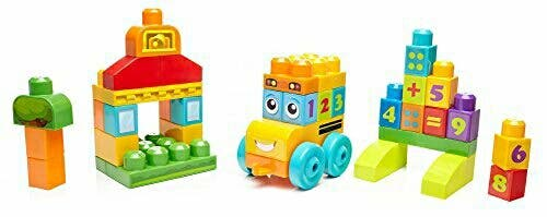 Mega Bloks-Autobús vamos a contar