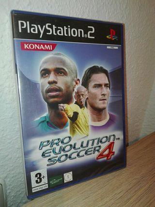 PLAYSTATION 2 PRO EVOLUTION SOCCER 4